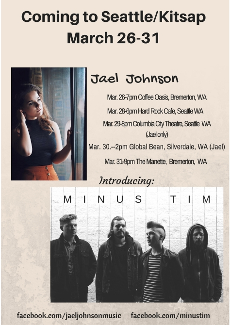 Jael Johnson with Minus Tim
